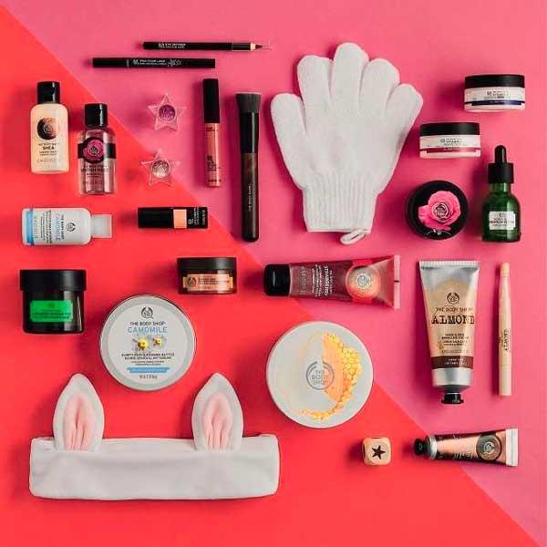 pakkekalender med makeup
