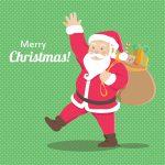Julemanden siger Merry Christmas