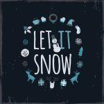 Let it snow kort