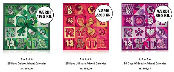 The Body Shop Pakkekalender 2017