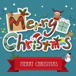 Glædelig jul kort