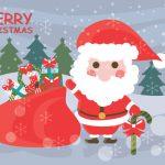 Julemand med gaver