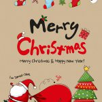 Merry Christmas kort