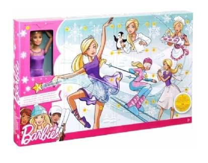 Barbie Julekalender med dukke