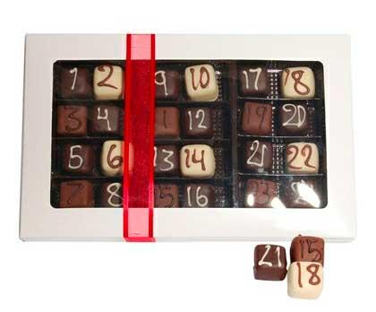 Julekalender - Luksus Marcipan Chokolade