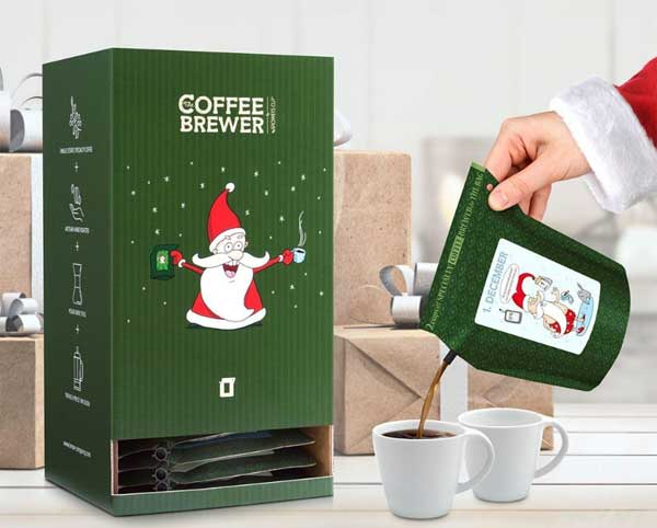 Julekalender kaffe