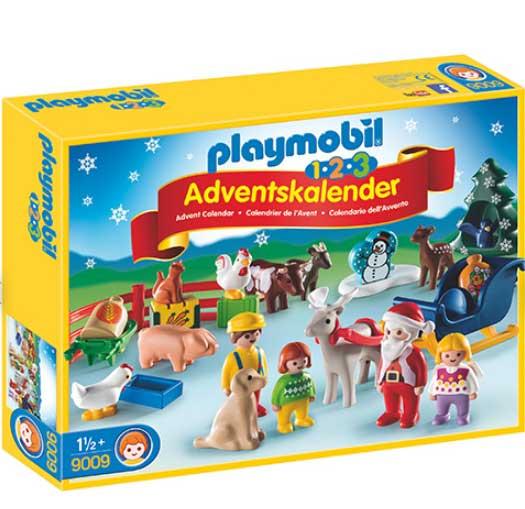 Playmobil julekalender - Jul på gården