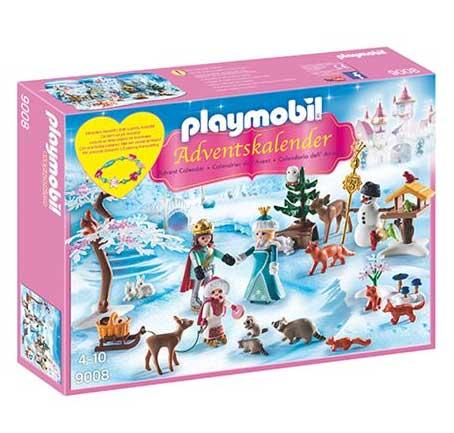 Playmobil julekalender - Royalt skøjteløb